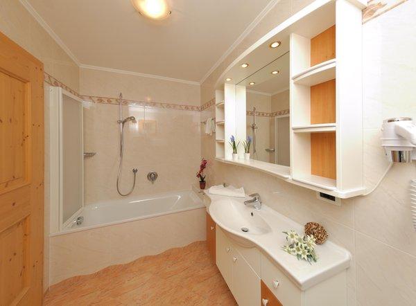 Foto del bagno Appartamenti Villa Nussbaumer