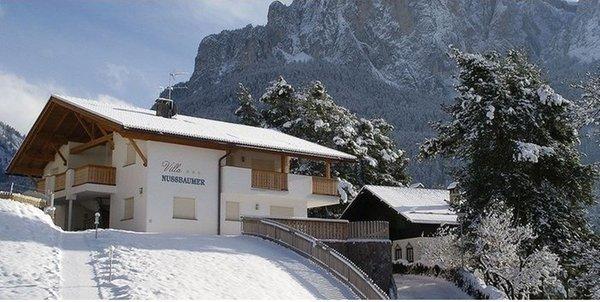 Foto invernale di presentazione Appartamenti Villa Nussbaumer