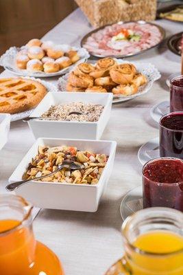 La colazione Stoa - Elegant & Romantic Guest House