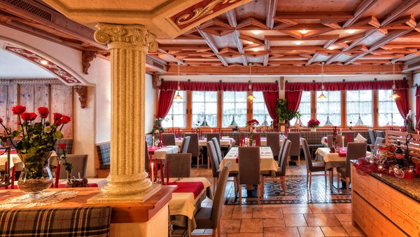 Das Restaurant St. Vigil Mirabel
