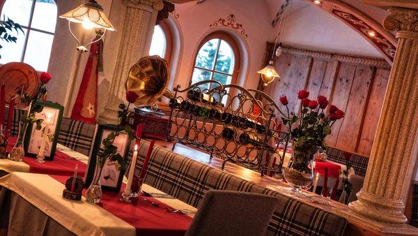 The restaurant San Vigilio / St. Vigil Mirabel