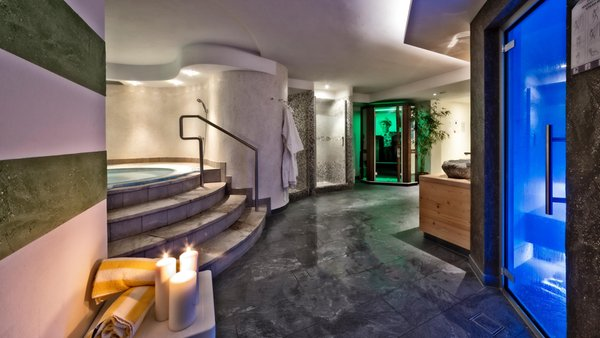 Photo of the wellness area Hotel Mirabel