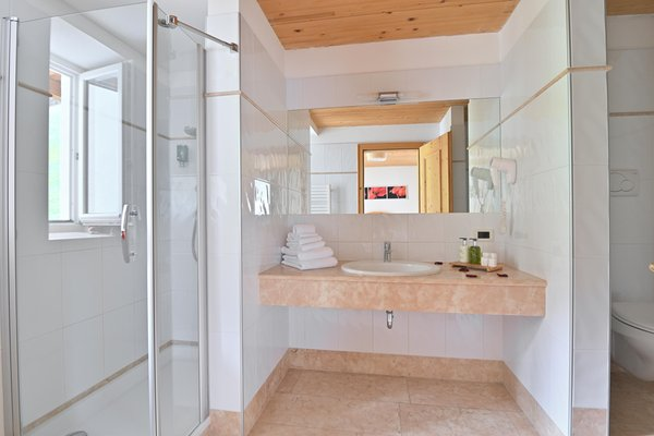 Foto del bagno Hotel Monte Paraccia