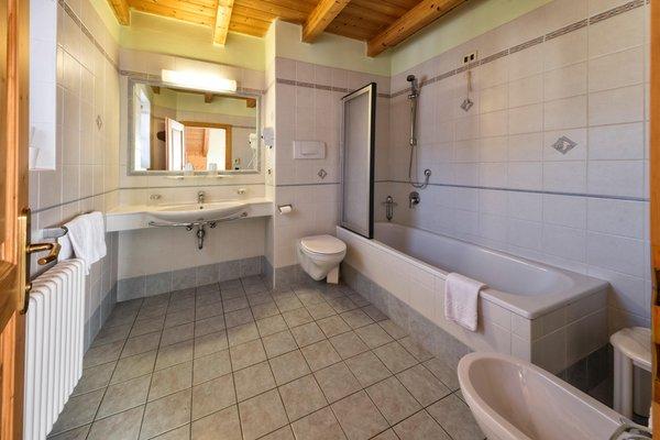 Foto del bagno Hotel Brunella