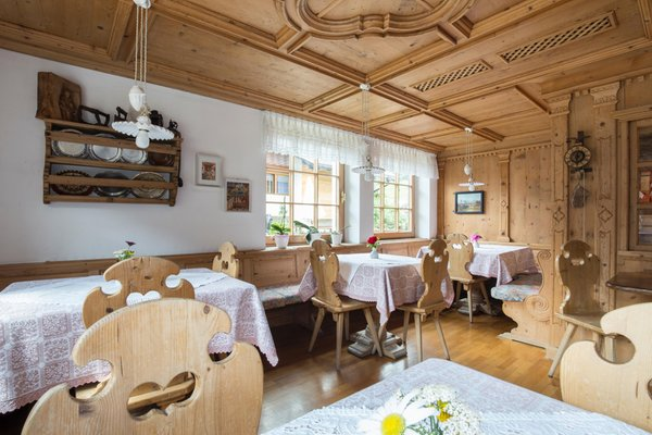 Photo of the stube Hotel Erika San Vigilio Dolomites