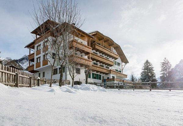 Foto invernale di presentazione Hotel Riposo al Bosco