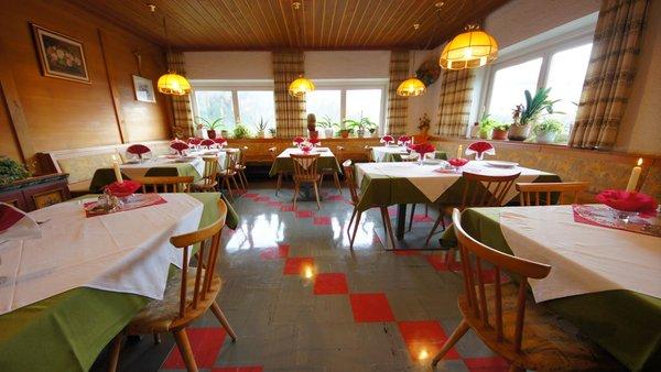 Il ristorante Pieve (San Vigilio di Marebbe) Gasthof La Pli