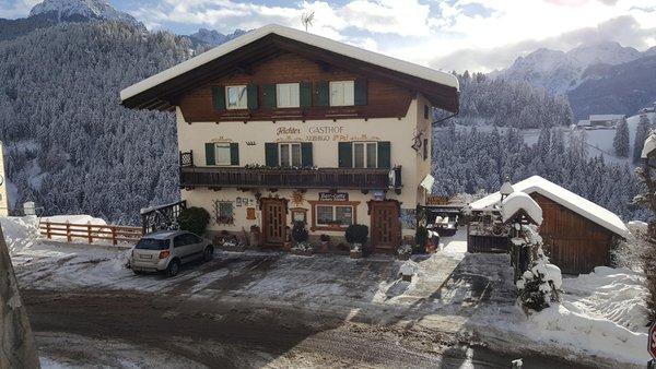Foto invernale di presentazione Albergo Gasthof La Pli