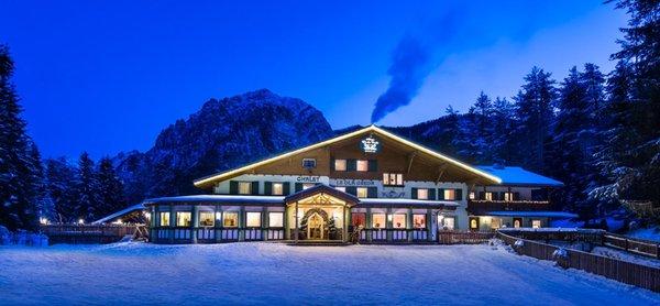 Foto invernale di presentazione Hotel Lago della Creta