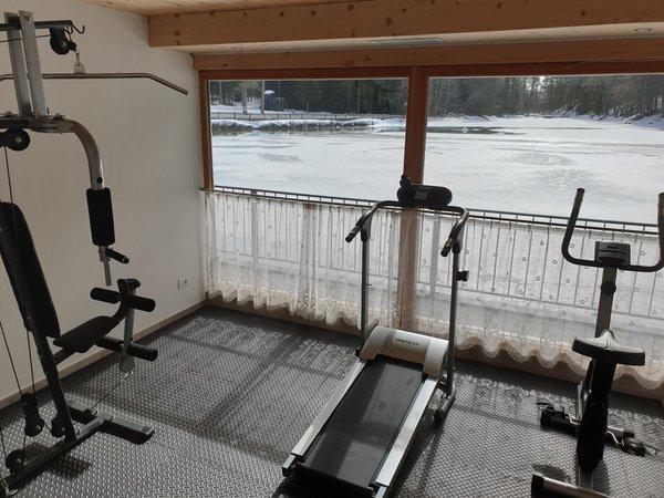 Foto della zona fitness Hotel Lago della Creta