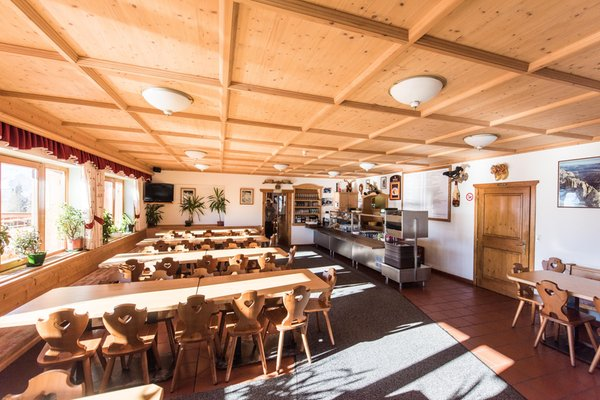 Das Restaurant St. Vigil Berghotel Panorama