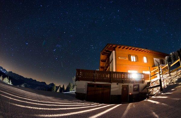 Foto esterno in inverno Albergo Alpino Panorama