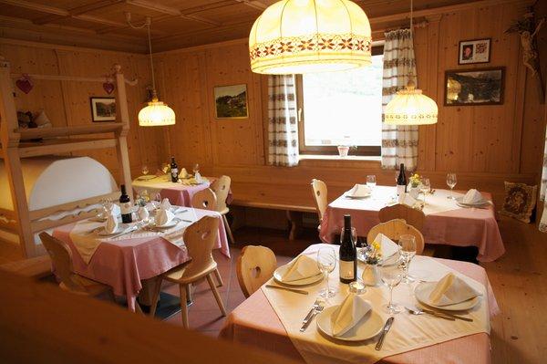 Il ristorante San Vigilio Fodara Vedla