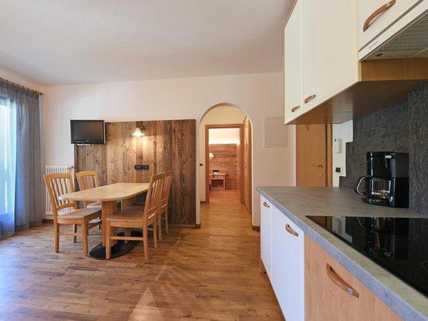 Foto della cucina Apart Residence Rautal B&B