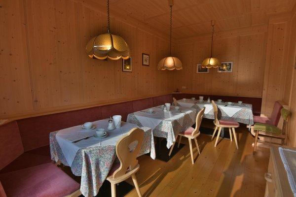 The restaurant San Vigilio / St. Vigil Pe de Munt