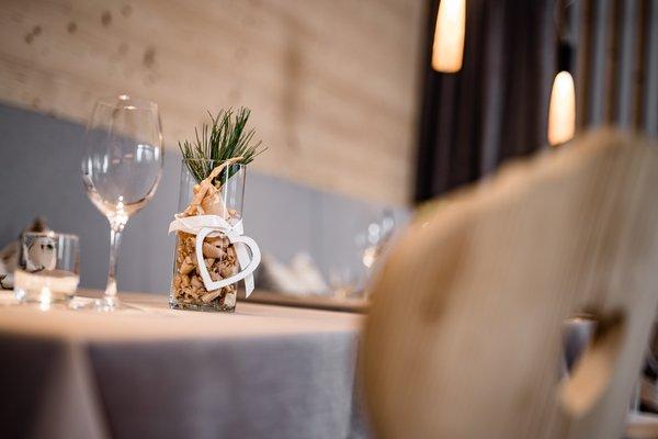 Das Restaurant Zwischenwasser (Sankt Vigil in Enneberg) Grones