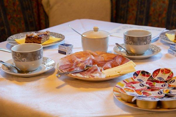 La colazione Ciasa Brüscia - Bed & Breakfast 3 soli