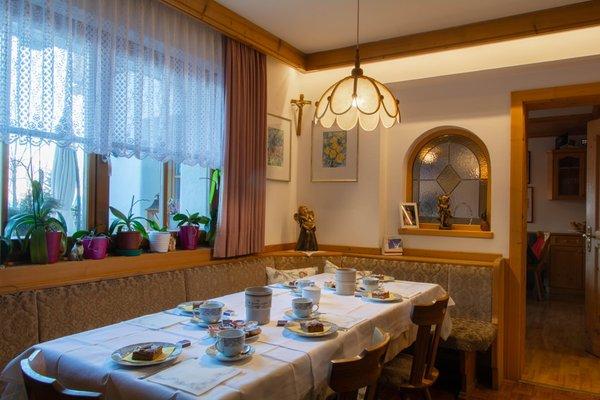 Das Restaurant St. Vigil Ciasa Brüscia
