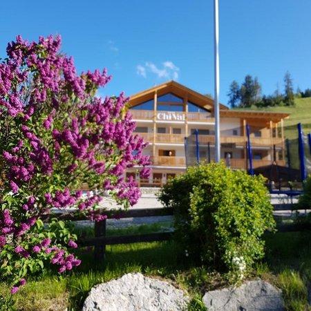 Foto esterno in estate Ciasa ChiVai