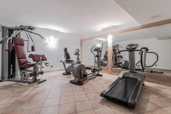 Foto della zona fitness Residence Antina