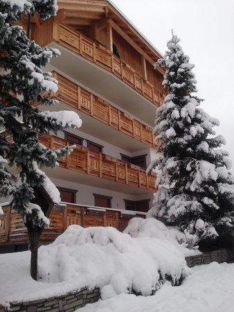Winter Präsentationsbild Residence Corn