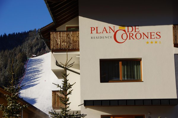 Foto Außenansicht im Winter Plan de Corones