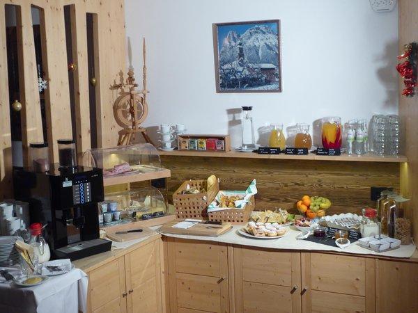 The breakfast Plan de Corones - Residence 3 stars sup.