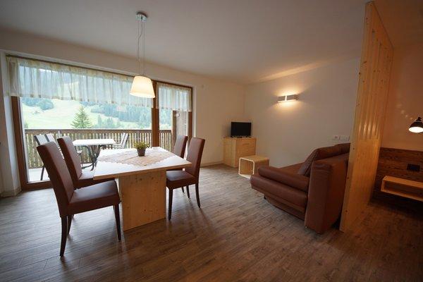 The living area Plan de Corones - Residence 3 stars sup.