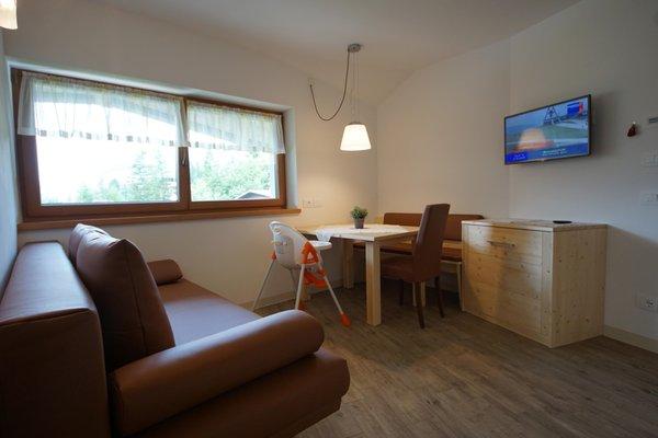 Das Wohnzimmer Plan de Corones - Residence 3 Stern sup.