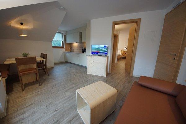 Der Wohnraum Plan de Corones - Residence 3 Stern sup.