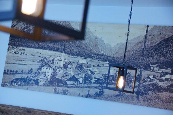 Foto di alcuni dettagli Plan de Corones