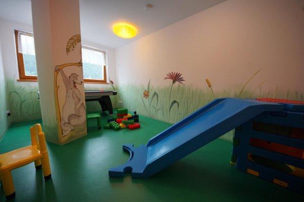 Das Kinderspielzimmer Residence Plan de Corones