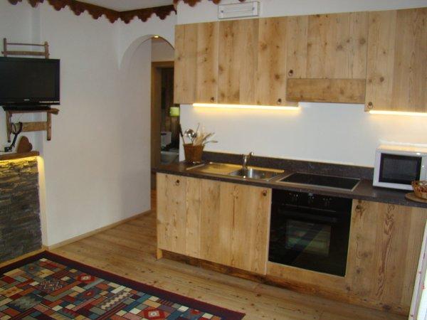 Foto della cucina Alpine Villa Adler