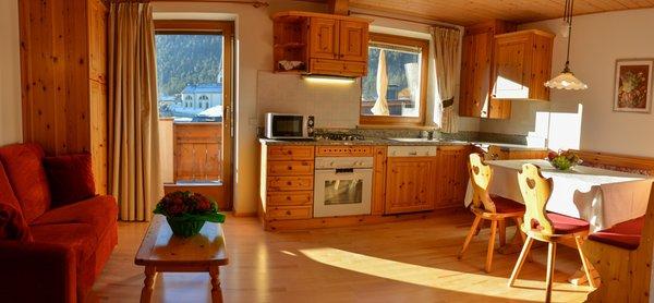 La zona giorno Residence Villa Melitta