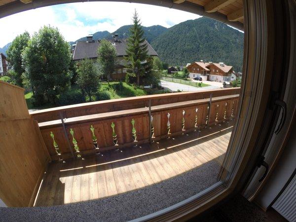 Foto vom Balkon Sorà