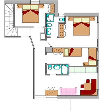 Floor plan Residence Sorà