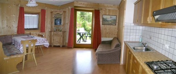 Living area Sorà - Residence 2 stars