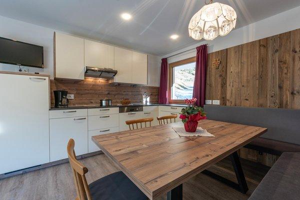 Foto della cucina Ciasa Romantica