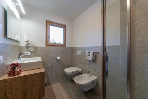 Foto del bagno Appartamenti Ciasa Romantica
