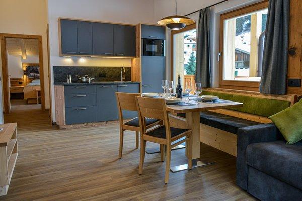 Foto der Küche Ciasa Plaies