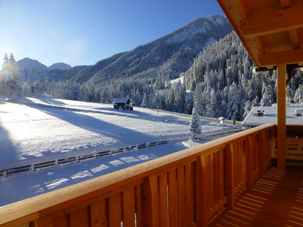 Foto vom Balkon Ciasa Plaies