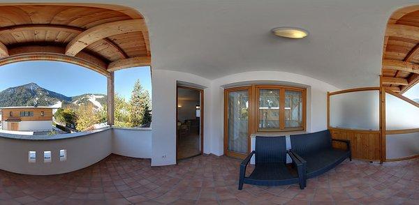 Foto del balcone Antersì