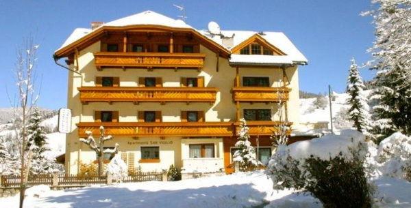Winter Präsentationsbild Apartments S. Vigilio