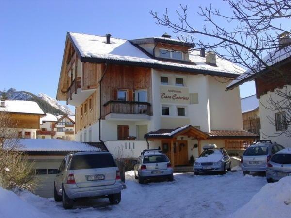 Foto invernale di presentazione Ciasa Conturines - Appartamenti 3 soli