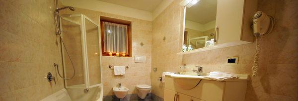 Foto del bagno Appartamenti La Pli