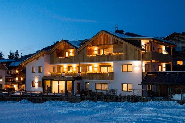 Foto invernale di presentazione Appartamenti Ciasa Lavarella