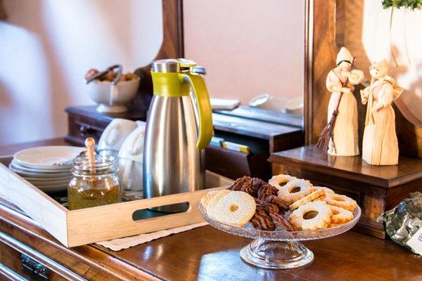 La colazione Appartamenti Ciasa Lavarella