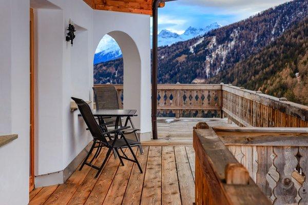 Foto vom Balkon Schmiedhof