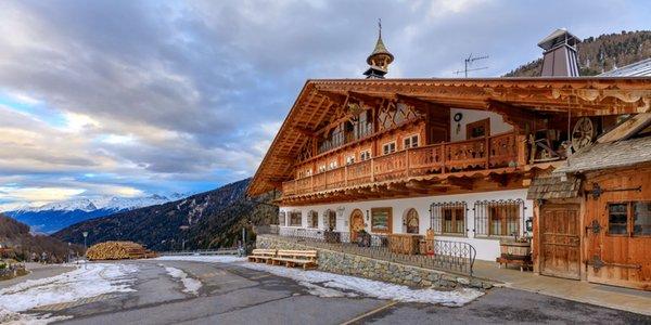 Foto Außenansicht im Winter Schmiedhof