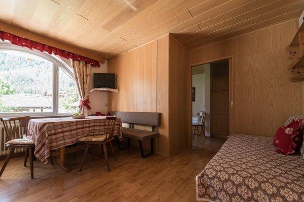 Der Wohnraum Ciasa Albert - Ferienwohnungen 3 Sonnen